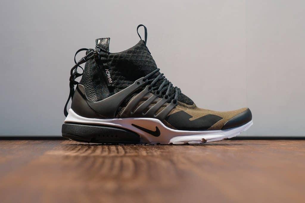 classifica delle migliori sneakers del 2016 - ACRONYM x NikeLab Air Presto Mid