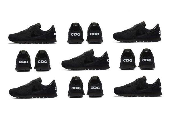 Black CDG Nike Air Pegasus 83