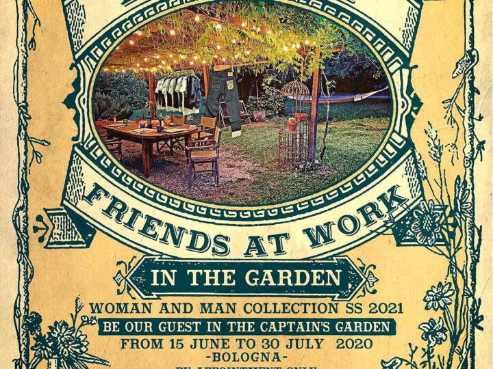 Friends at work in the Garden